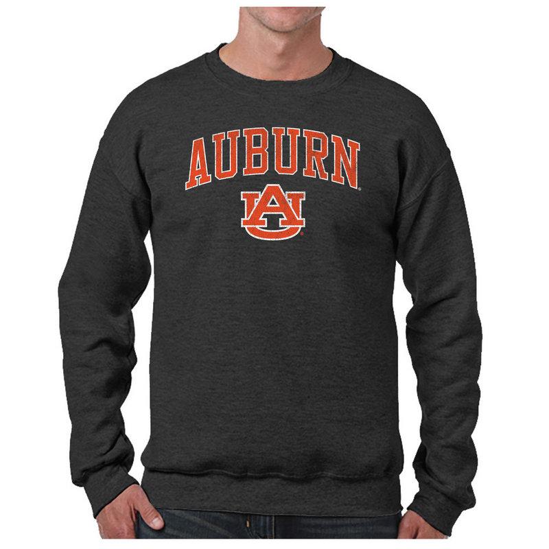 Auburn Tigers Vintage Crewneck Sweatshirt Charcoal Victory AUBV1412A_TV6135M_HBK