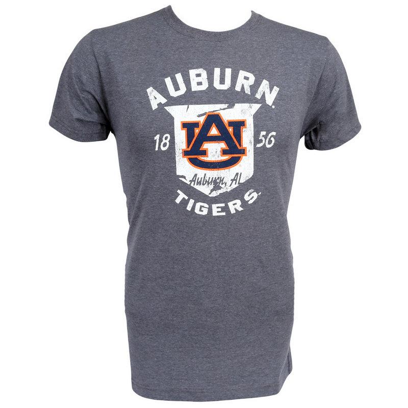 Auburn Tigers Vintage T Shirt Charcoal
