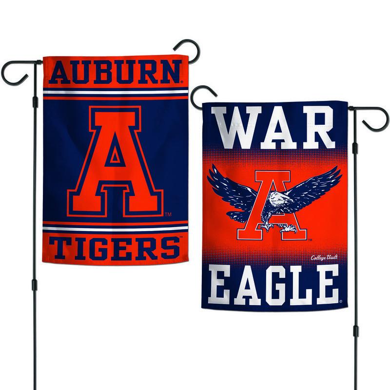 "Auburn Tigers War Eagle Garden Flag 12.5""x18"""
