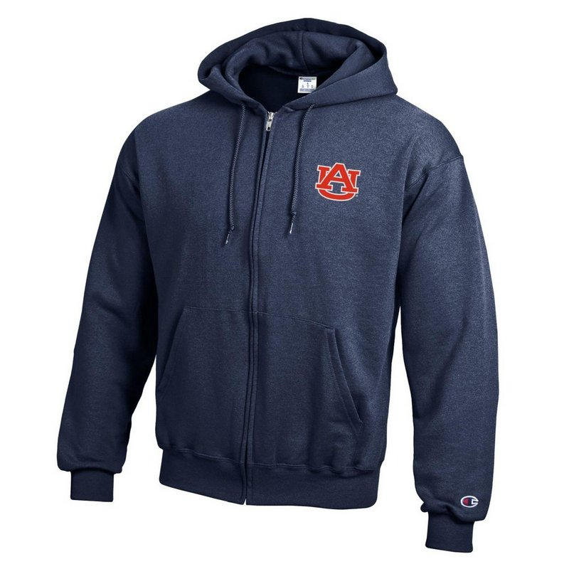 Auburn Tigers Zip Up Hooded Sweatshirt Navy AUB29704/APC03197421