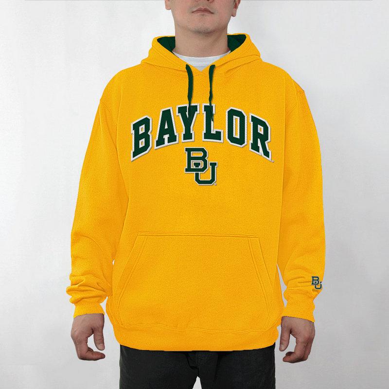 Baylor Bears Hooded Sweatshirt Captain Gold BAY28354