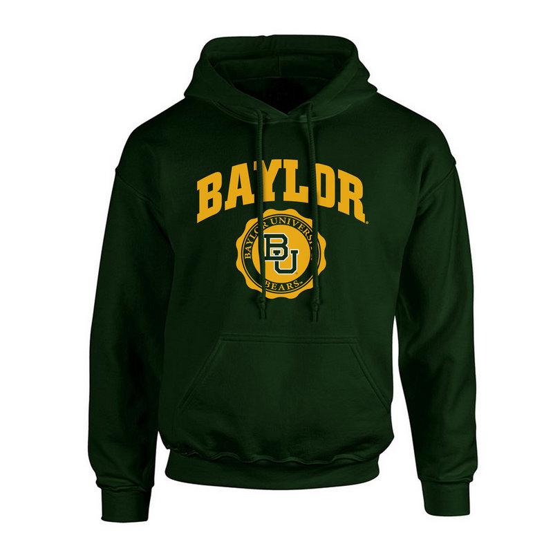 Baylor Bears Hooded Sweatshirt Seal Green P0007478