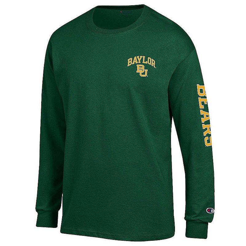Baylor Bears Long Sleeve TShirt Letterman Green APC02973682/APC02973685