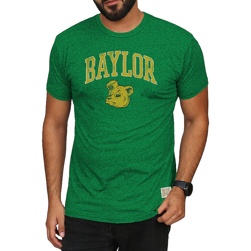 Baylor Bears Retro Tshirt Green