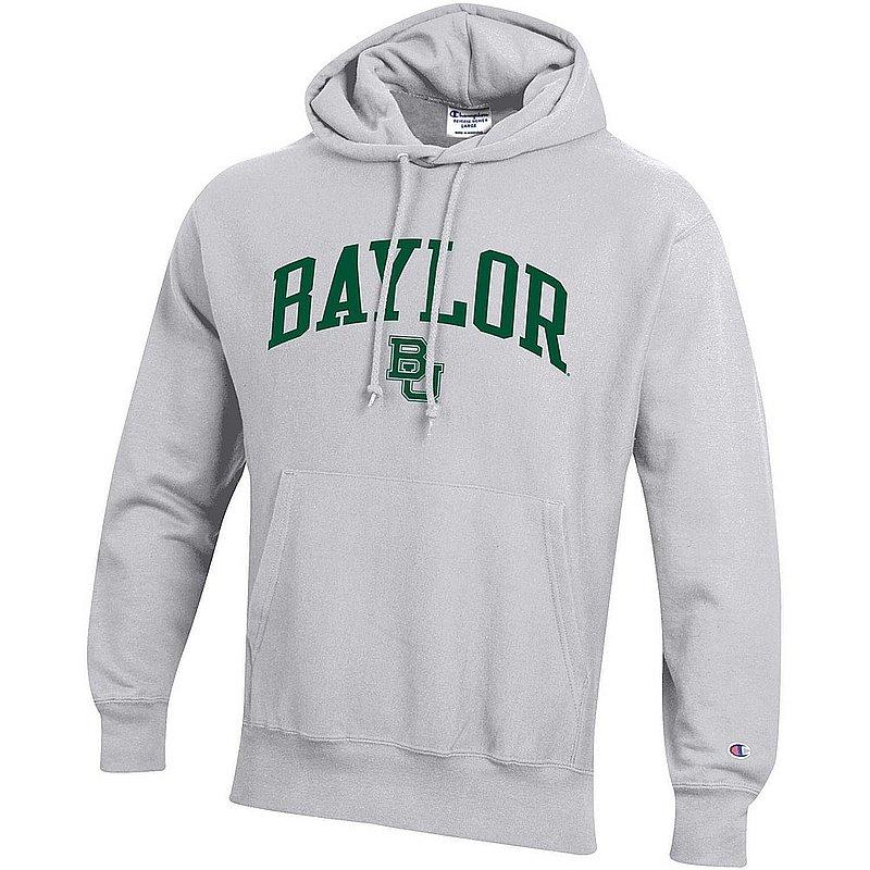 Baylor Bears Reverse Weave Hooded Sweatshirt Gray APC03006032