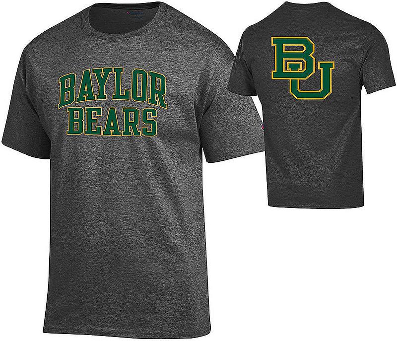 Baylor Bears TShirt Back Charcoal APC03010033/APC03010037