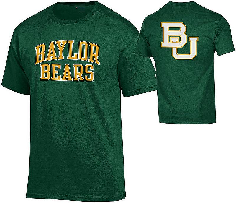Baylor Bears TShirt Back Green APC03010033/APC03010035