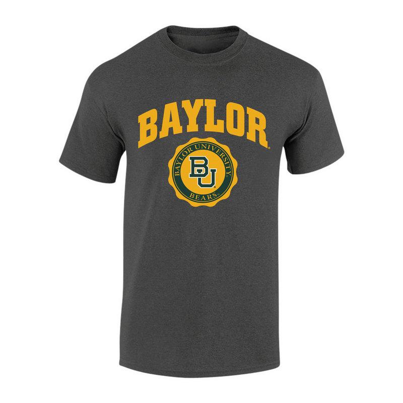 Baylor Bears TShirt Seal Charcoal P0007478