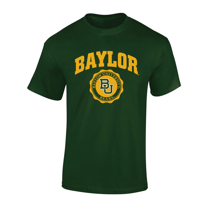 Baylor Bears TShirt Seal Green P0007478