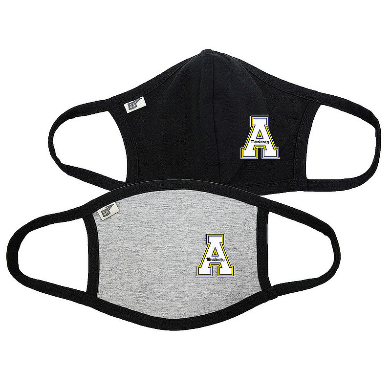 Blue 84 Appalachian State Mountaineers Face Covering 2 Pack 00000000BCP7C 00000000BCP7B (Blue 84)