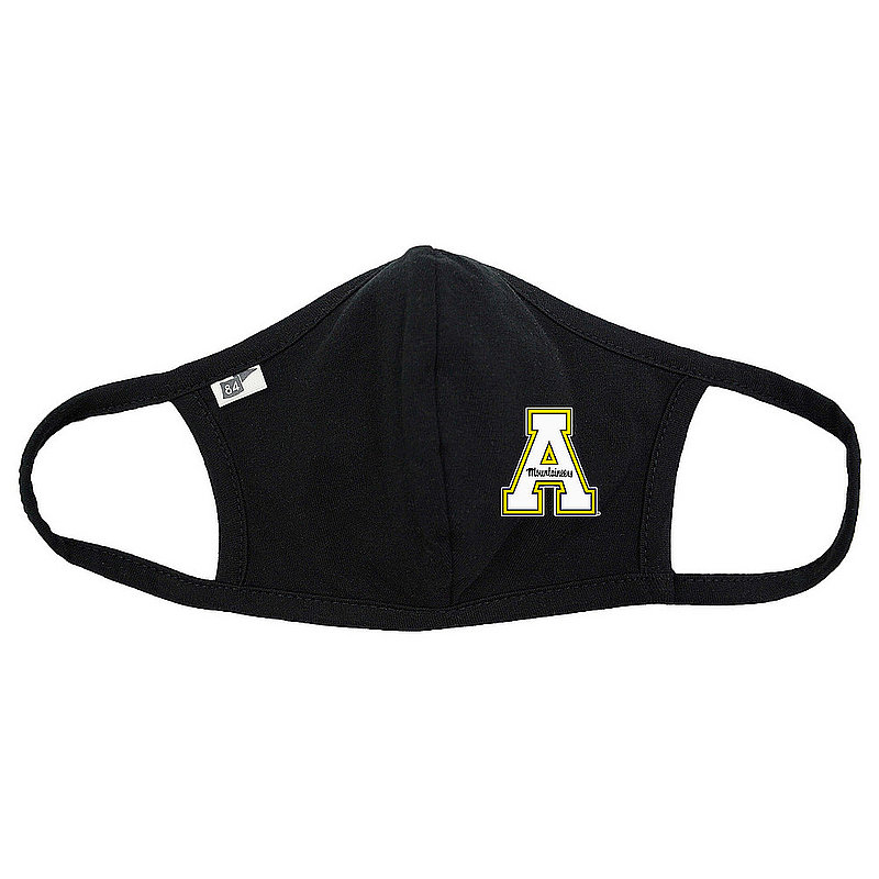 Blue 84 Appalachian State Mountaineers Face Covering Black 00000000BCP7C (Blue 84)