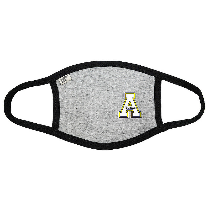 Blue 84 Appalachian State Mountaineers Face Covering Gray 00000000BCP7B (Blue 84)
