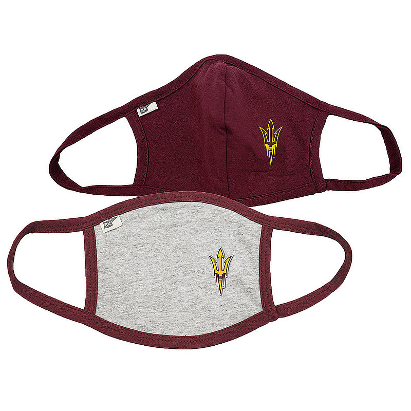 Blue 84 Arizona State Sun Devils Face Covering 2 Pack 00000000BC465 00000000BC46T (Blue 84)