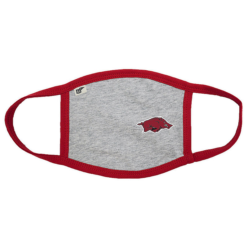 Blue 84 Arkansas Razorbacks Face Covering Gray BRXN6_MASKH_HEACAR (Blue 84)