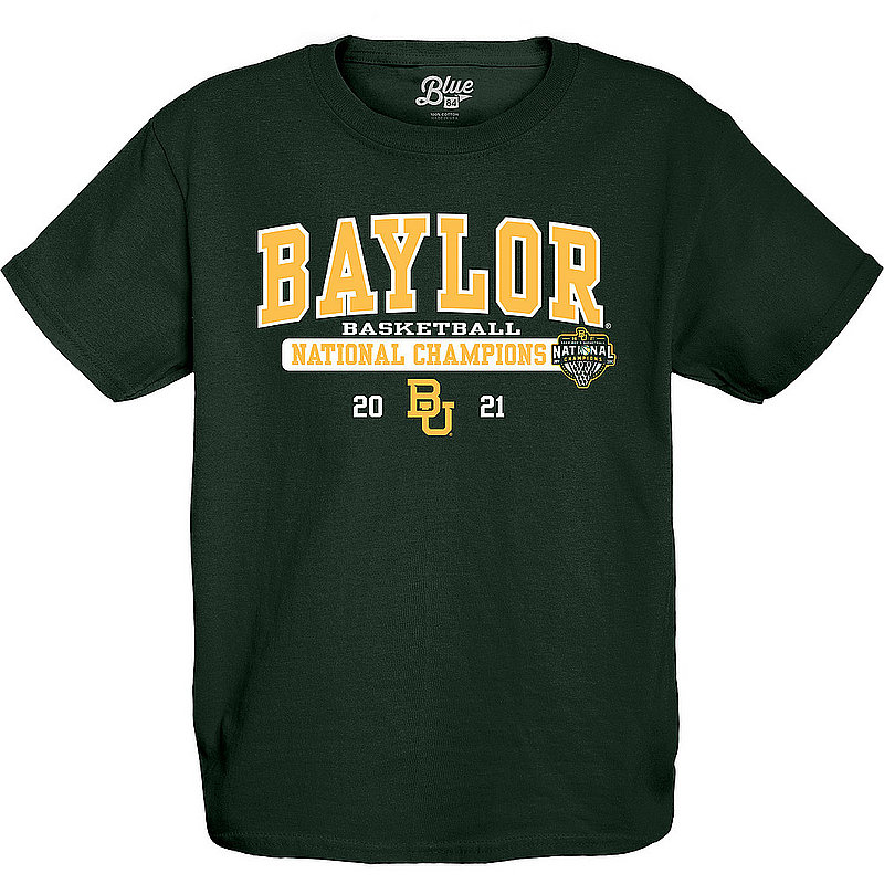 Blue 84 Baylor Bears Kid's National Basketball Championship T-Shirt 2021 00000000BX4H6 * (Blue 84)