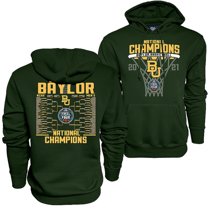 Blue 84 Baylor Bears National Basketball Championship Hoodie 2021 Bracket 00000000BXHTK (Blue 84)