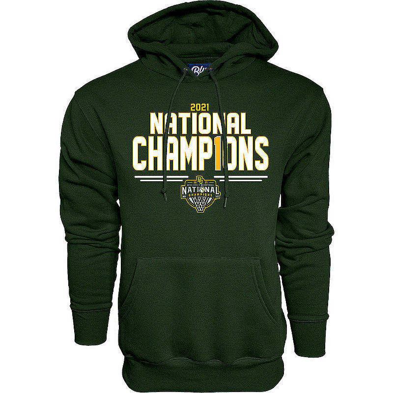 Blue 84 Baylor Bears National Basketball Championship Hoodie 2021 Number 1 00000000BX4N8 (Blue 84)