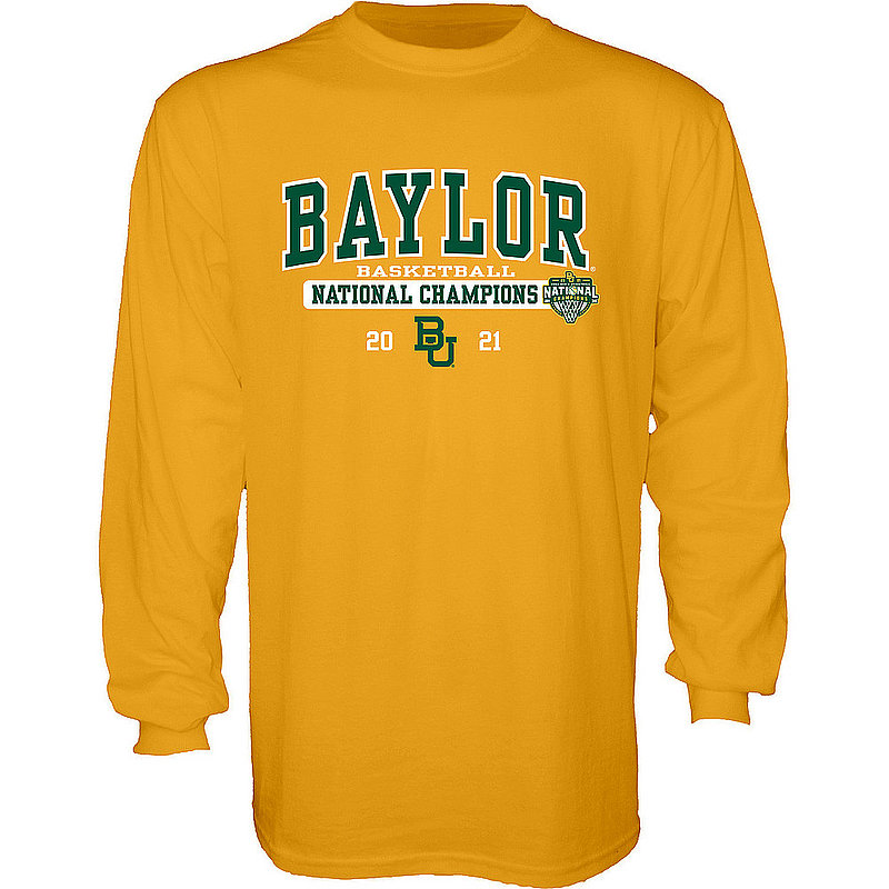 Blue 84 Baylor Bears National Basketball Championship Long Sleeve T-Shirt 2021 Bold 00000000BX4H6 (Blue 84)