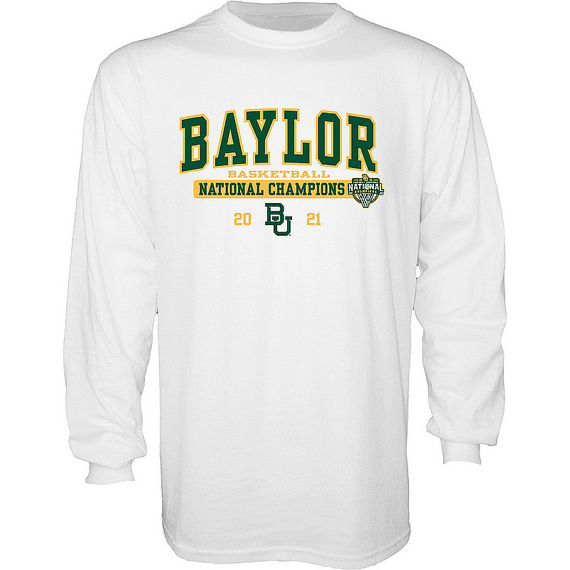 Blue 84 Baylor Bears National Basketball Championship Long Sleeve T-Shirt 2021 Bold 00000000BX4H6 * (Blue 84)