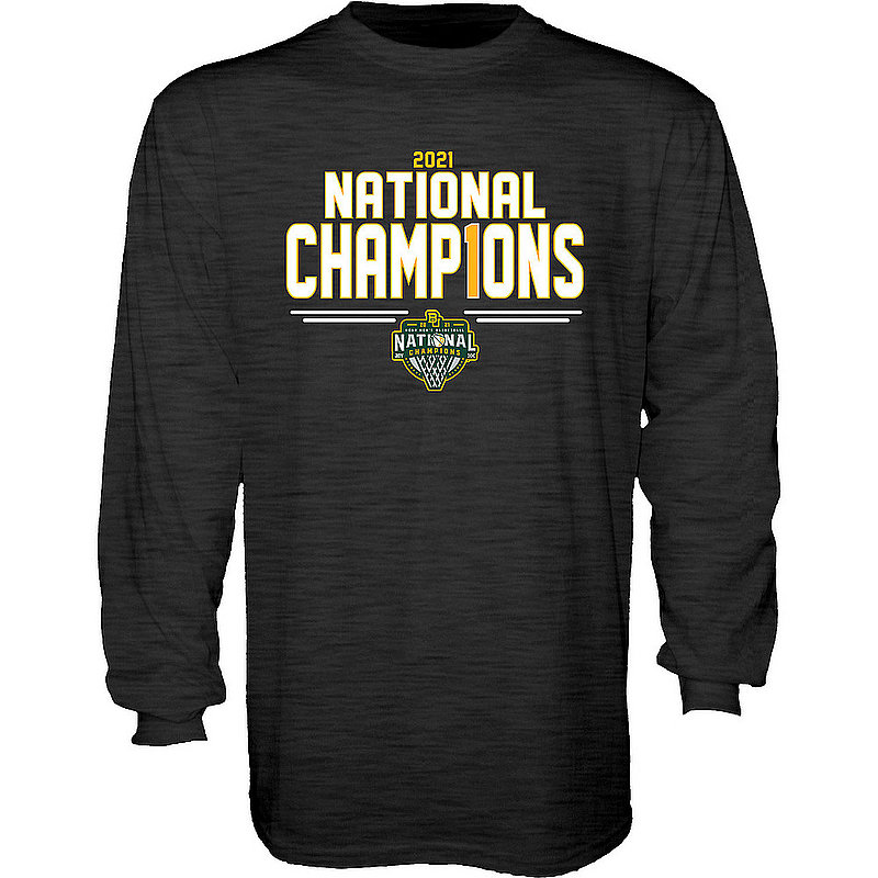 Blue 84 Baylor Bears National Basketball Championship Long Sleeve T-Shirt 2021 Number 1 00000000BX4N8 (Blue 84)