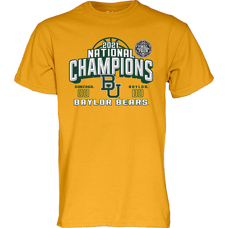 Blue 84 Baylor Bears National Basketball Championship T-Shirt 2021 Ball 00000000BX4RJ * (Blue 84)