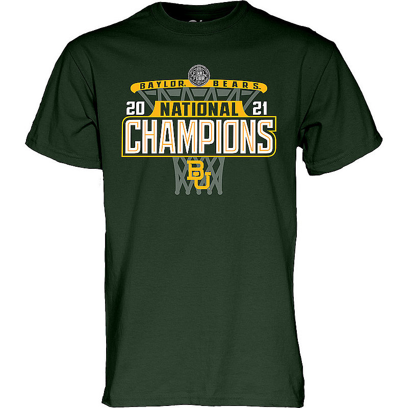 Blue 84 Baylor Bears National Basketball Championship T-Shirt 2021 Hoop 00000000BXHX2 * (Blue 84)