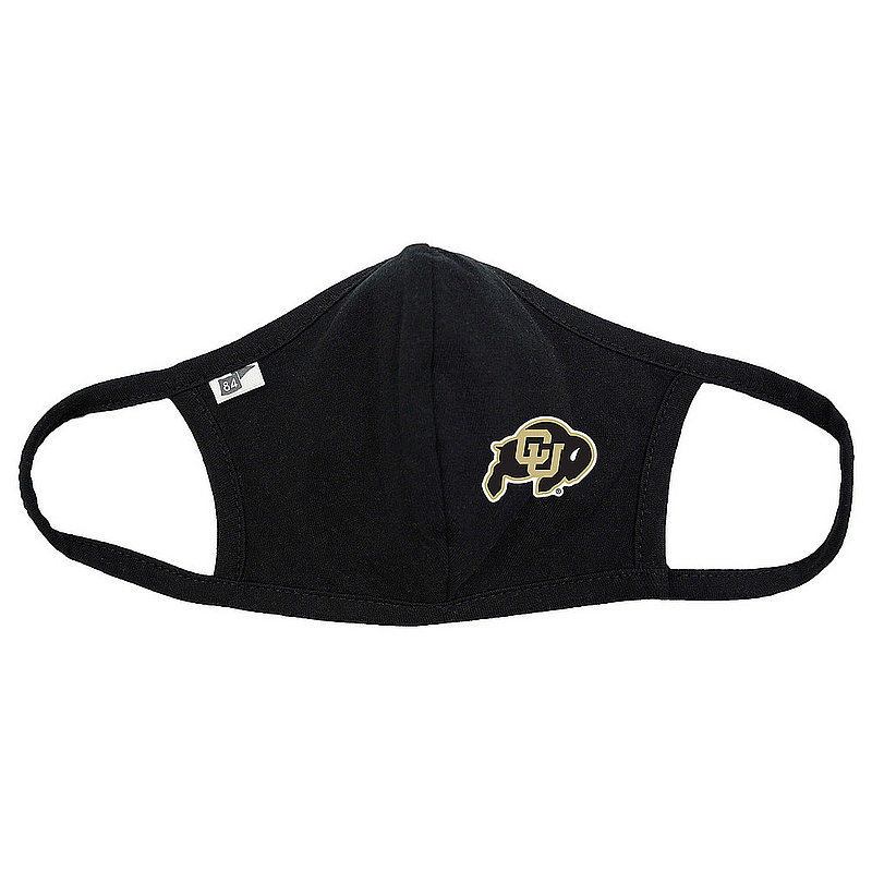 Blue 84 Colorado Buffaloes Face Covering Black BRXPN_MASKP_BLACK (Blue 84)