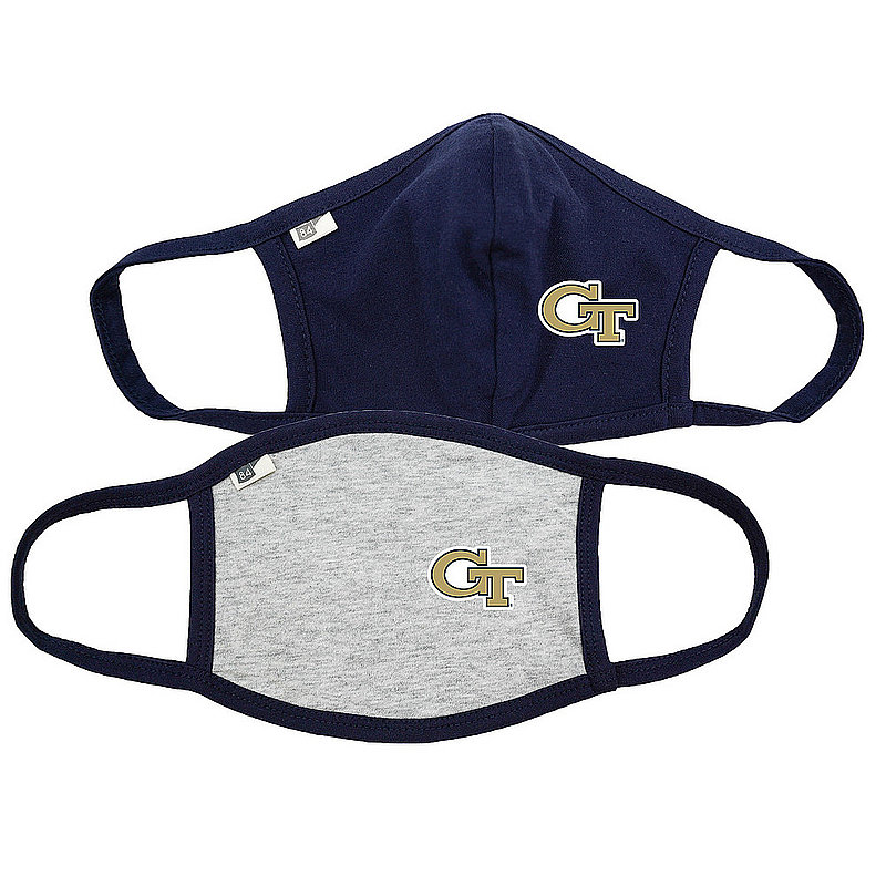 Blue 84 Georgia Tech Yellow Jackets Face Covering 2 Pack 00000000BC4SR 00000000BC369 (Blue 84)