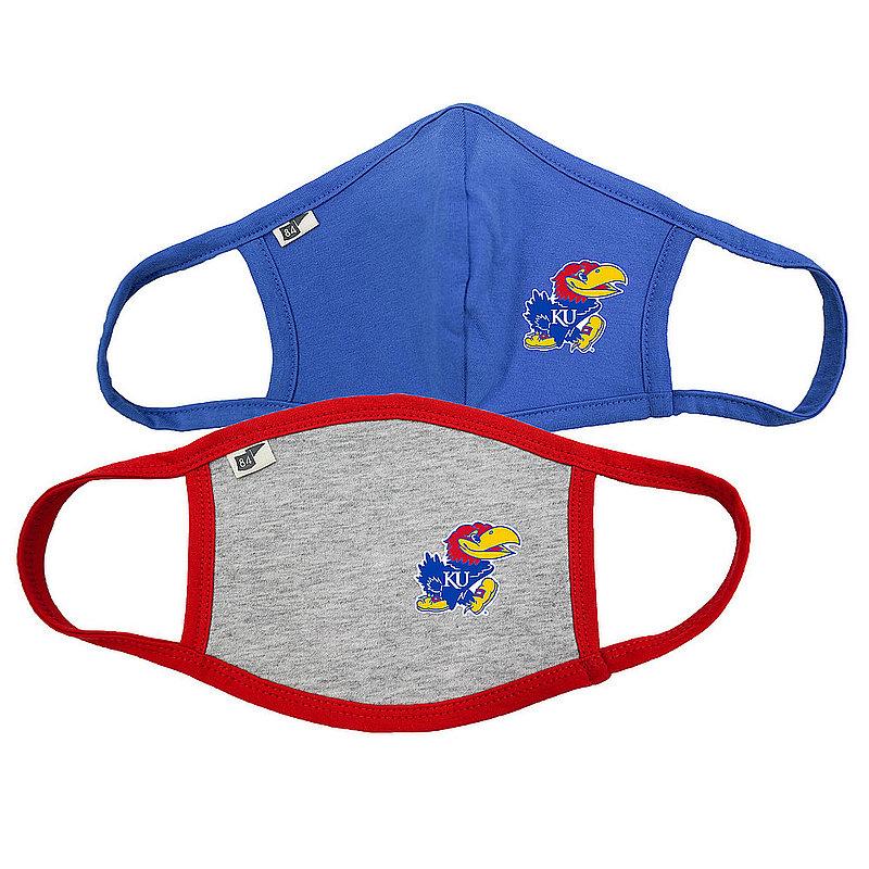 Kansas Jayhawks Face Covering 2 Pack