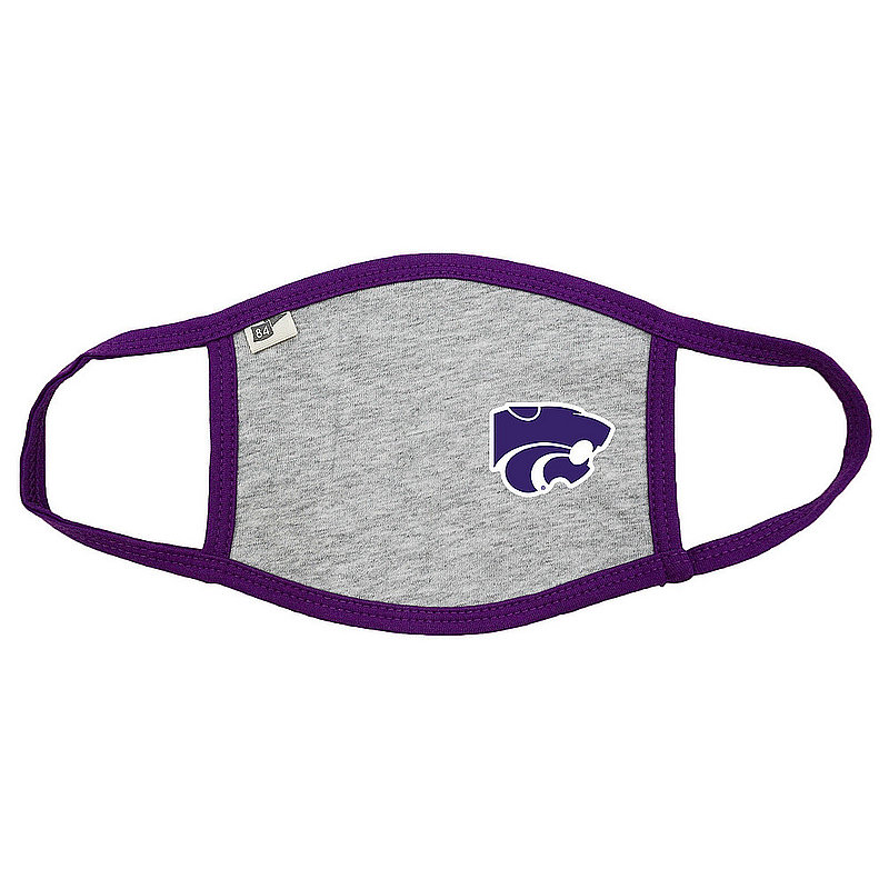Blue 84 Kansas State Wildcats Face Covering Gray 00000000BC36X (Blue 84)