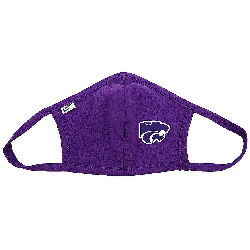 Blue 84 Kansas State Wildcats Face Covering Purple BRXPH_MASKP_PURPLE (Blue 84)