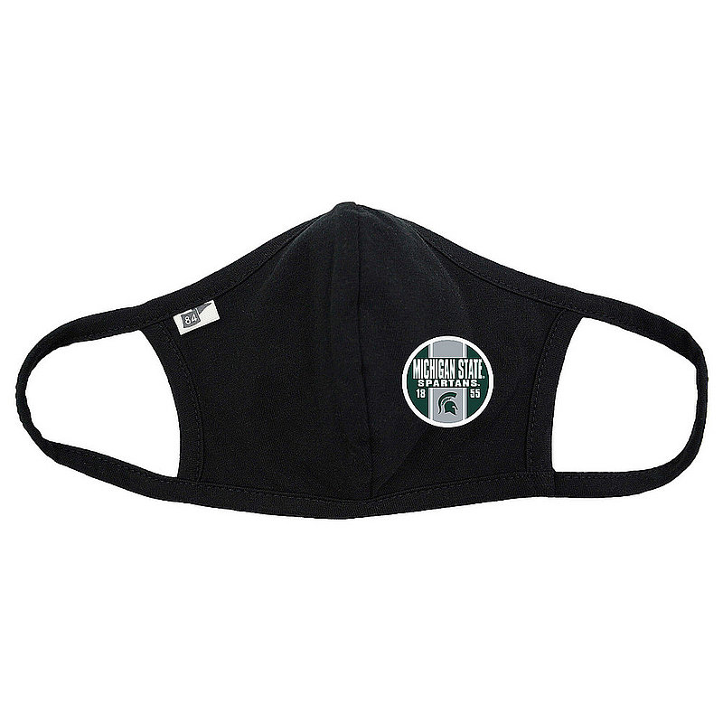 Blue 84 Michigan State Spartans Face Covering Black 00000000BC36C (Blue 84)