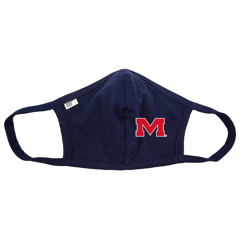 Blue 84 Mississippi Ole Miss Rebels Face Covering Navy 00000000BCPXZ (Blue 84)