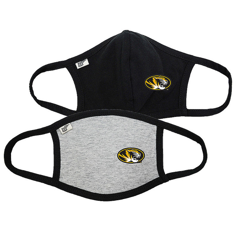 Blue 84 Missouri Tigers Face Covering 2 Pack 00000000BC4ST 00000000BC3SX (Blue 84)