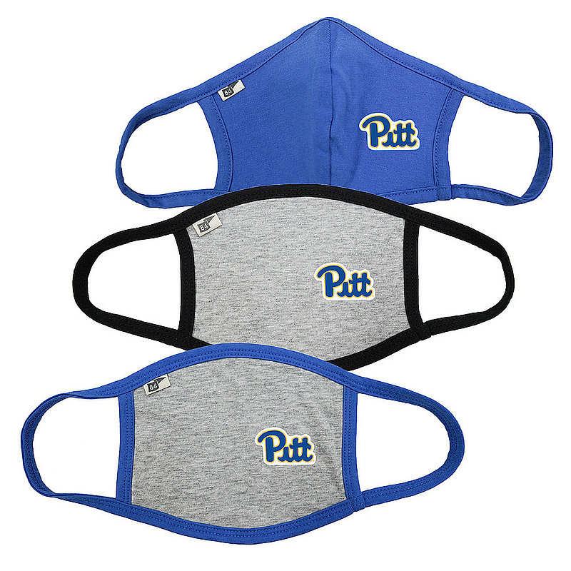 Blue 84 Pitt Panthers Face Covering 3 Pack Gray 00000000BC4Z9 00000000BC473 00000000BC473 (Blue 84)