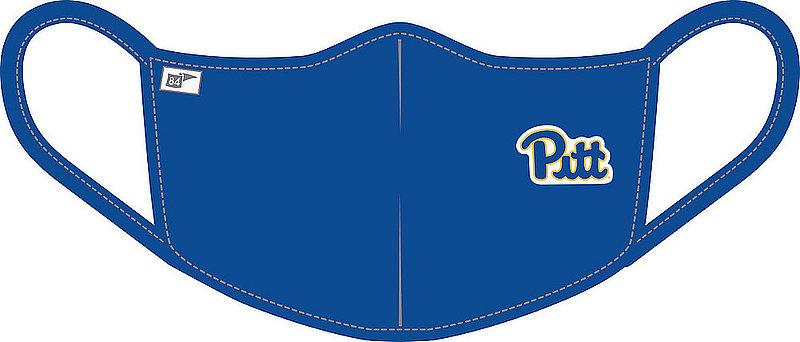 Blue 84 Pitt Panthers Face Covering Blue BRXK2_MASKP_ROYAL (Blue 84)