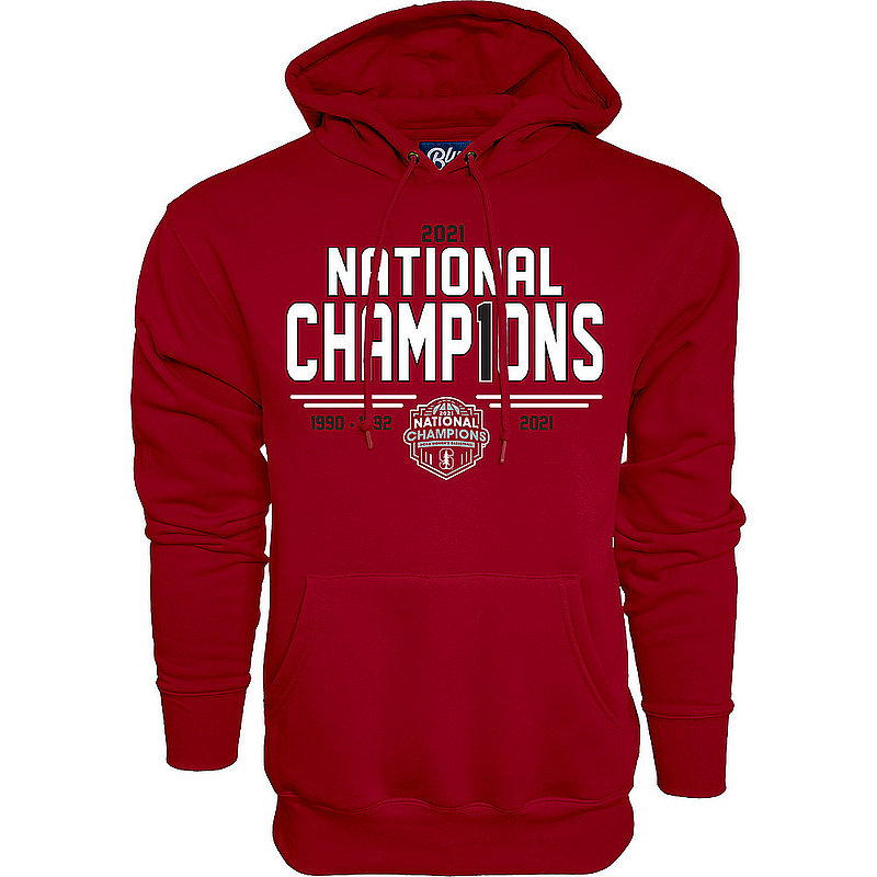 Blue 84 Stanford Cardinal Womens National Basketball Championship Hoodie 2021 Number 1 00000000BX4BT (Blue 84)