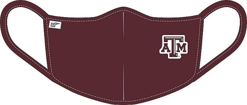 Blue 84 Texas A&M Aggies Face Covering Maroon BRXKH_MASKP_MARO (Blue 84)