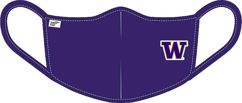 Washington Huskies Face Covering Purple