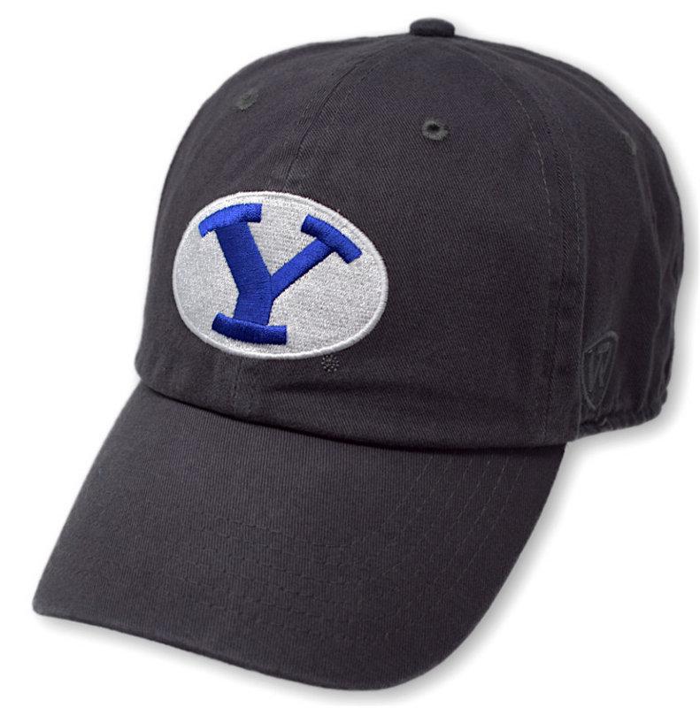 BYU Cougars Icon Charcoal Hat CHAMP-BRGYG-ADJ-CHR