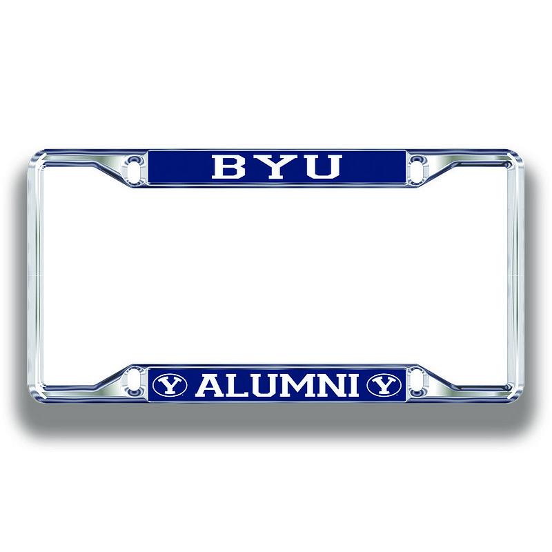 BYU Cougars License Plate Frame Alumni 45899