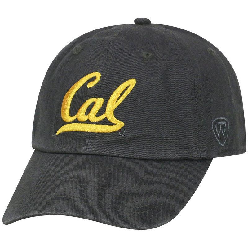 California Golden Bears Hat Icon Charcoal CHAMP-CABRK-ADJ-CHR