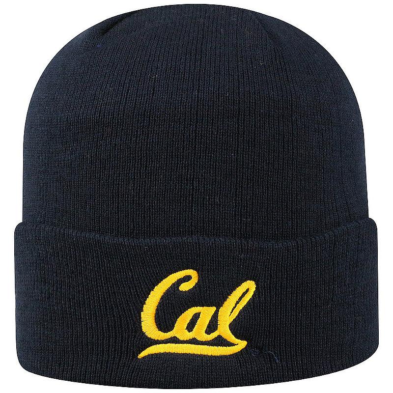 a9c9a7e5195 California Golden Bears Knit Winter Beanie Hat Blue TWCUF-CABRK-CKT-TMC5