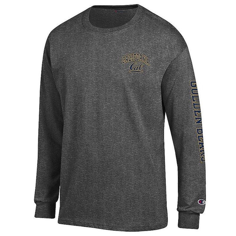 California Golden Bears Long Sleeve TShirt Letterman Charcoal APC02984519/APC02983659