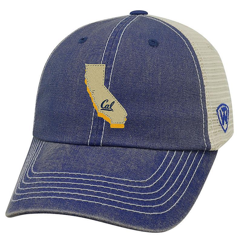 California Golden Bears Trucker Hat Blue UNTD-CABRK-ADJ-2TN4