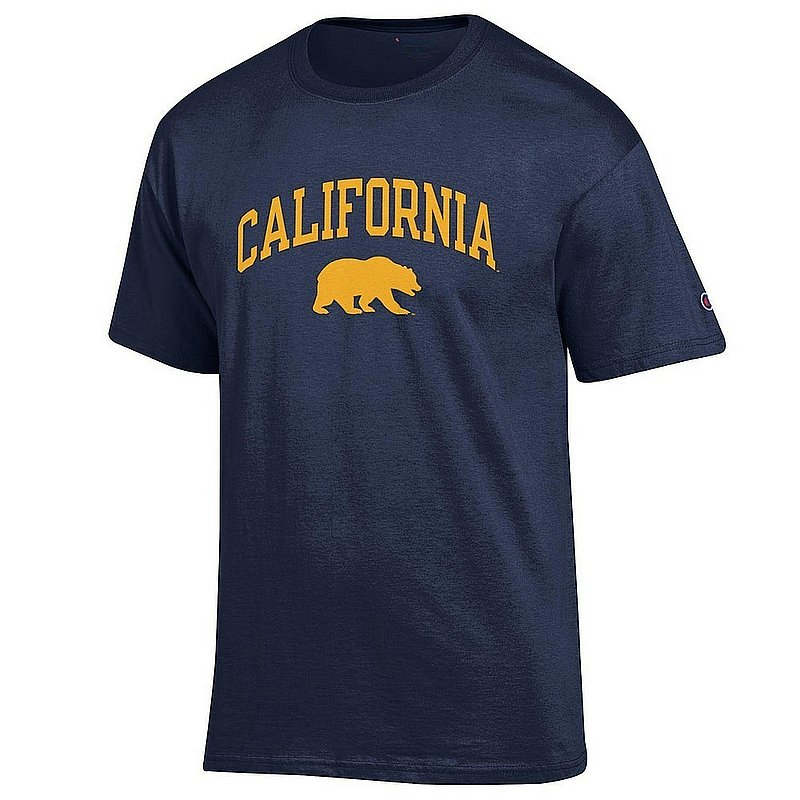 California Golden Bears TShirt Varsity Navy Arch Over APC02960966*