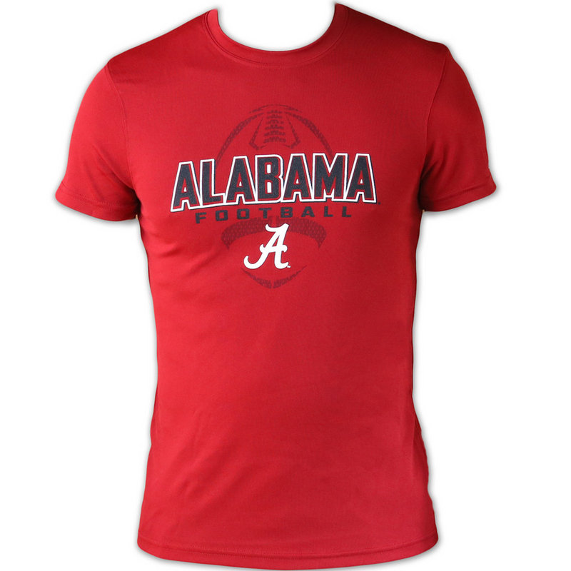 Alabama crimson tide football mens performance t shirt for University of alabama football t shirts