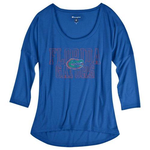 Champion Florida Gators Womens Half Time T Shirt Vintage 4787793-APC02479918 (Champion)