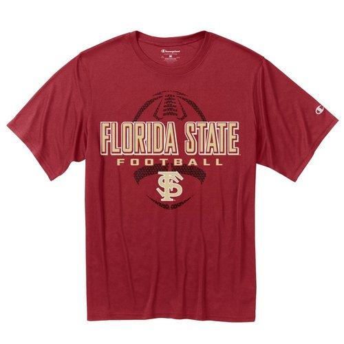 FSU Seminoles Football Mens Performance TShirt