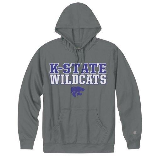 Champion K-State Wildcats Mens Performance Sweatshirt Charcoal (Champion)